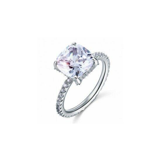 5 karátos ezüst gyémánt gyűrű-6