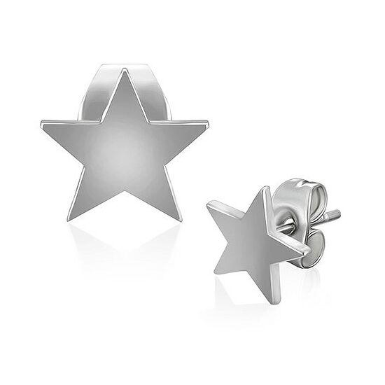 Csillag alakú fülbevaló