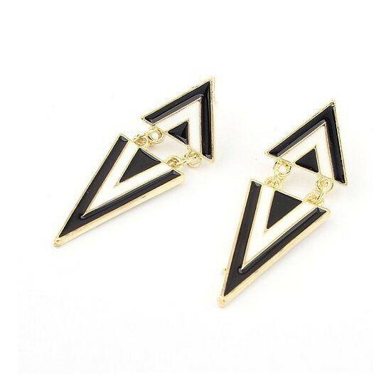 Divatos háromszög fülbevaló 127