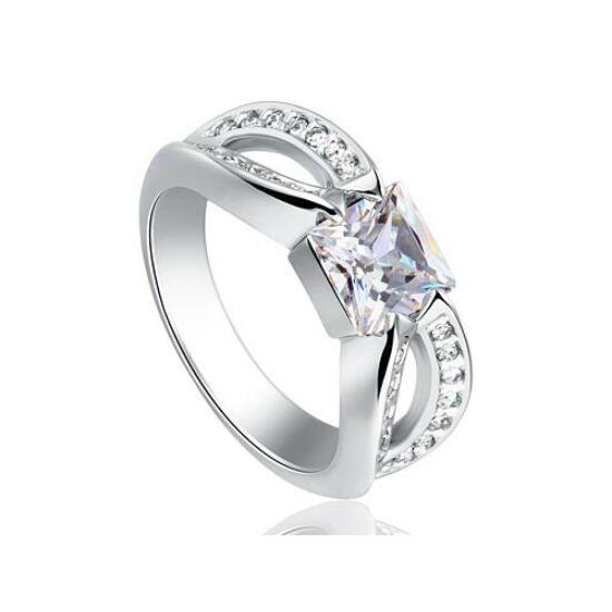 Egyedi szintetikus gyémánt gyűrű 203-7