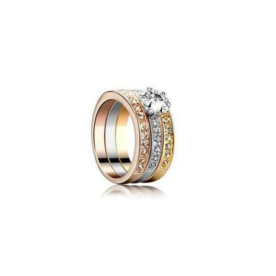 Exkluzív aranyozott gyűrű  73