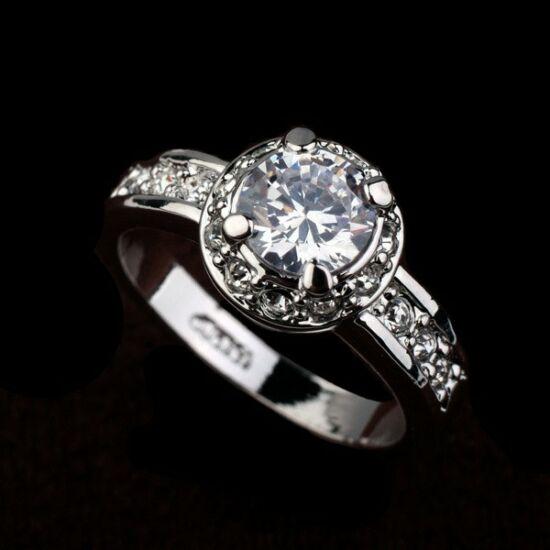 Exkluzív Swarovski kristályos gyűrű  84