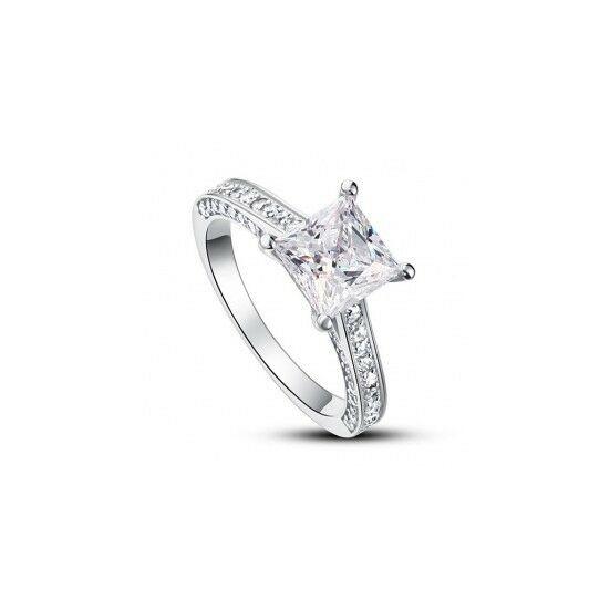 Ezüst gyémánt gyűrű-4