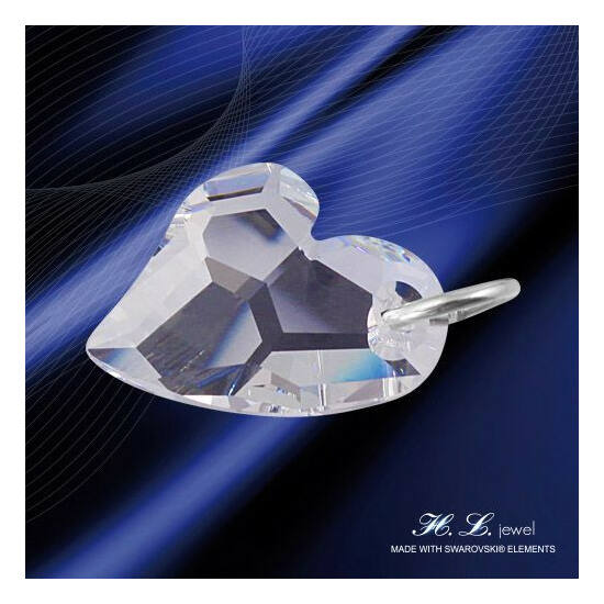 H. L. Jewel Swarovski® kristályos medál - Love Crystal