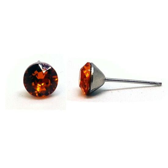 Jazzy Swarovski® kristályos fülbevaló - Tangerine