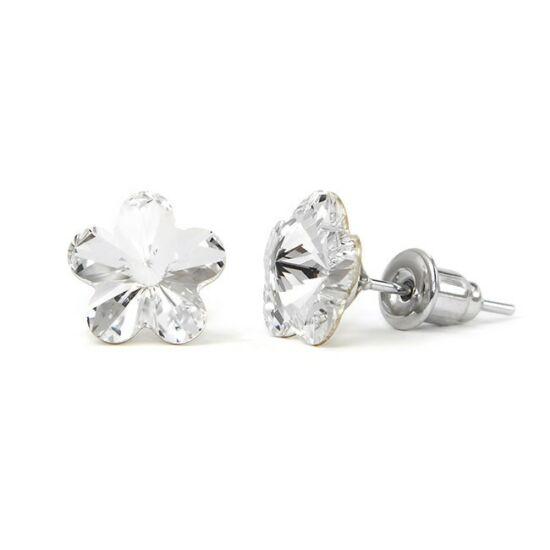 Jazzy SWAROVSKI® kristályos fülbevaló - Virág Crystal
