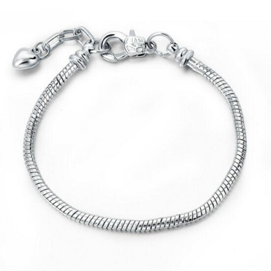 Pandora stílusú karkötő charm nélkül- Ezüst