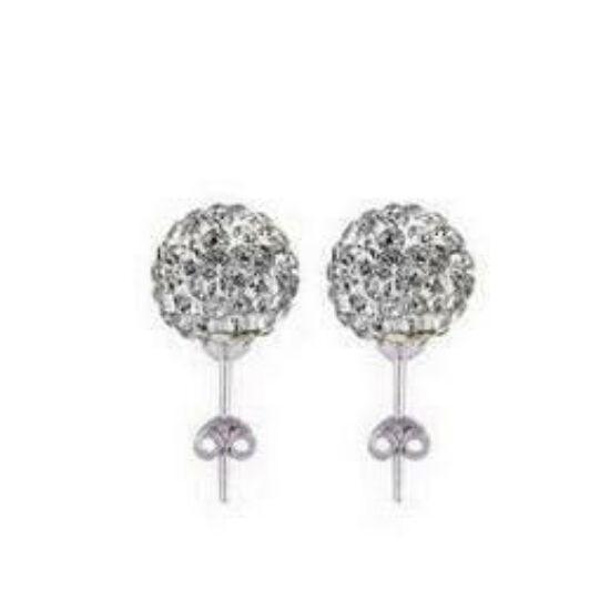 Shamballa fülbevaló - ezüst