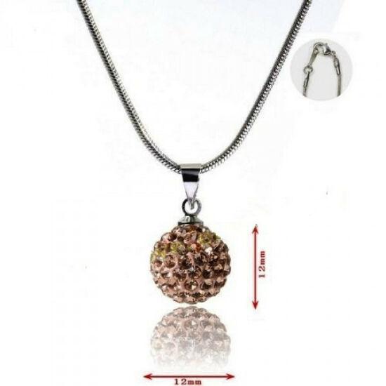 Shamballa nyaklánc - arany