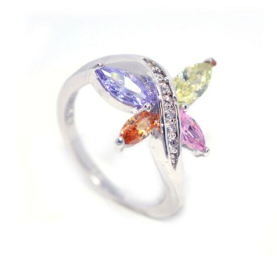 Swarovski kristályos gyűrű 128