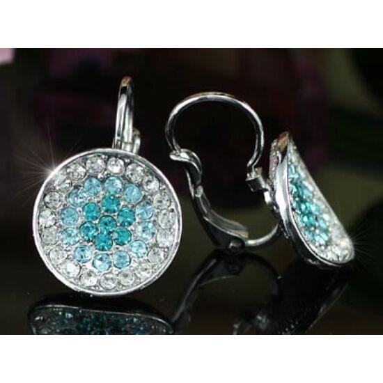 Swarovski kristályos kék fülbevaló-365 - nem rendelhető
