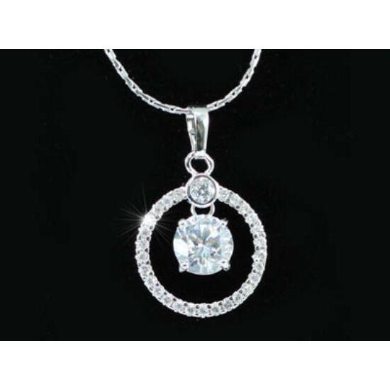 Swarovski kristályos nyaklánc:Csillogás nevű medállal