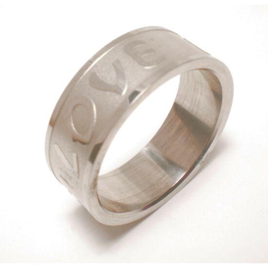 USA : 11-13 méretű nemesacél gyűrű ékszer