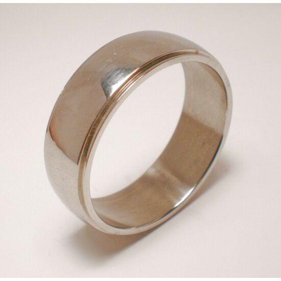 USA: 13-15 méretű nemesacél gyűrű ékszer