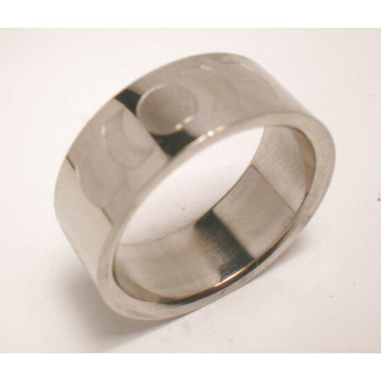USA : 9 méretű nemesacél gyűrű ékszer